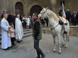 Todo preparado en Alcañiz para celebrar San Antón