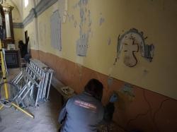 Comienza la restauración interior de la Ermita del Carmen