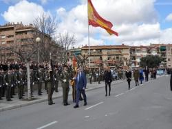 Masiva asistencia a la Jura de Bandera y conmemoración de 40 años de Constitución