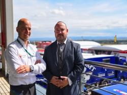 Las nuevas gerencias de MotorLand y Centro Zaragoza abren vías de colaboración para potenciar el uso del circuito de velocidad