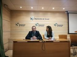 La Diputación de Teruel presenta en la ONU su experiencia como destino sostenible y el plan 113 SOS Teruel