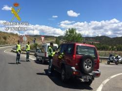 La Guardia Civil de Tráfico incrementará los controles con motivo de las fiestas patronales