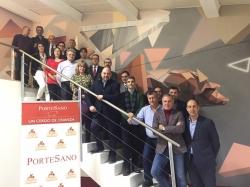 La granja de Portesa en Singra acoge la reunión del Pleno y Comité Ejecutivo de la Cámara de Teruel