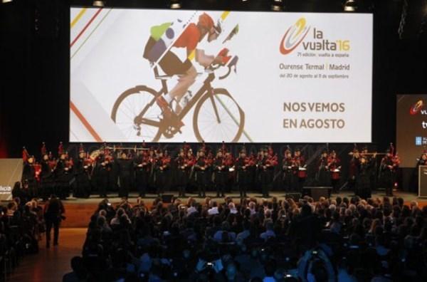 Recorrido oficial Vuelta a España 2016