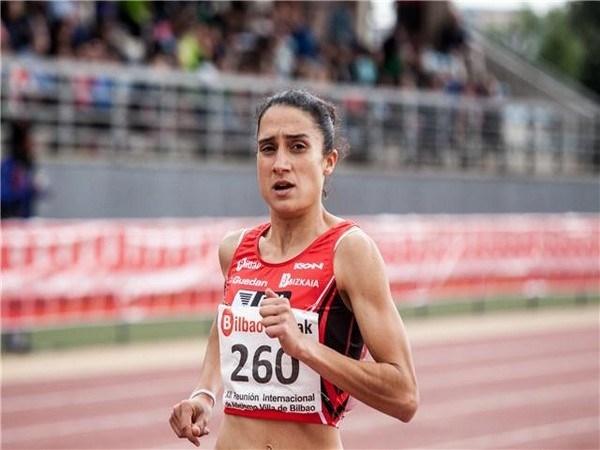 Marta Silvestre medalla de bronce en el Campeonato de España de Media Maratón