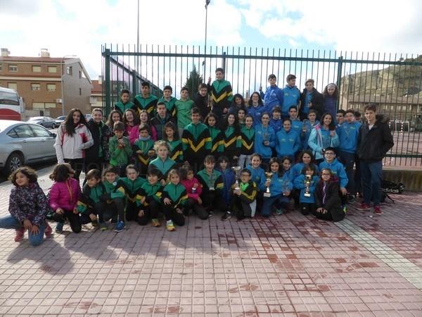Resultados del Campeonato Aragón  Escolar y Copa Aragón de Cross