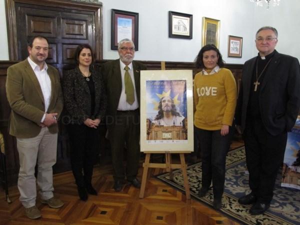 El cartel de la Semana Santa de Teruel hace un guiño a los 800 Años de los Amantes