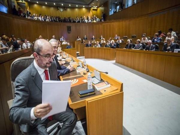 LAMBáN ASEGURA QUE LAS OBRAS DEL HOSPITAL DE ALCAñIZ NO SE PARALIZARáN POR FALTA DE PRESUPUESTO