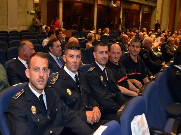 EL MINISTERIO DEL INTERIOR CONDECORA A SEIS PERSONAS CON LA MEDALLA AL MéRITO DE LA PROTECCIóN CIVIL