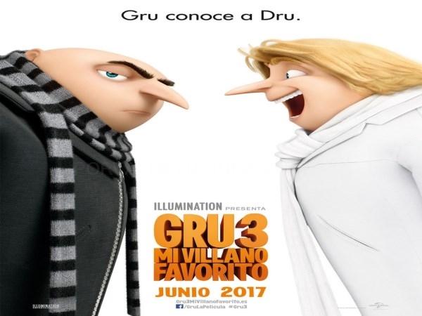 Dinópolis se promociona este verano con 'Gru 3' en los cines Kinépolis, Yelmo y Cinesa