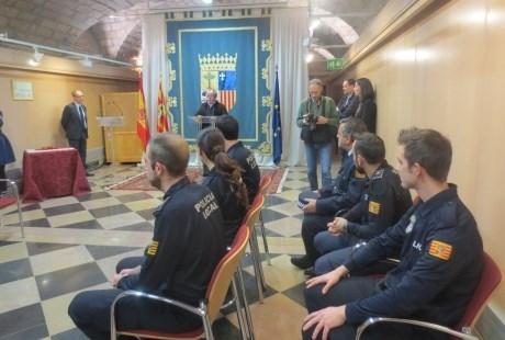 EL GOBIERNO DE ARAGóN ABRE UNA LíNEA DE 210.000 EUROS PARA SUBVENCIONAR A LAS POLICíAS LOCALES