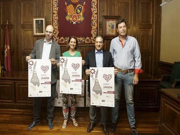Los Amantes, protagonistas del cartel de las XXXIII Ferias del Jamón de Teruel y Alimentos de Calidad