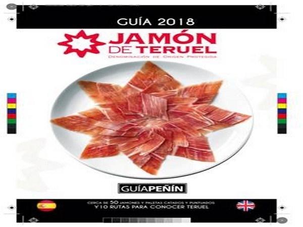 Sale a la calle  la Guía Peñín del Jamón de Teruel