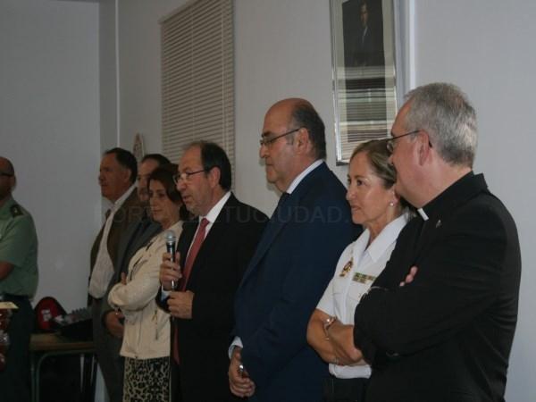 El Subdelegado del Gobierno en Teruel ha asistido al Centro Penitenciario para celebrar la Patrona, Nuestra Señora de la Merced