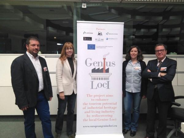 El proyecto Genius Loci pone el broche final ensalzando enclaves turísticos de tipología industrial