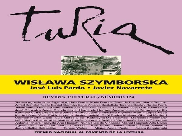 "Wislawa Szymborska protagoniza la revista ""Turia"""