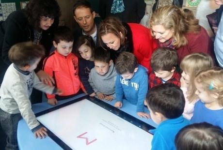 El colegio público Miguel Vallés estrena nuevas aulas y equipamiento informático