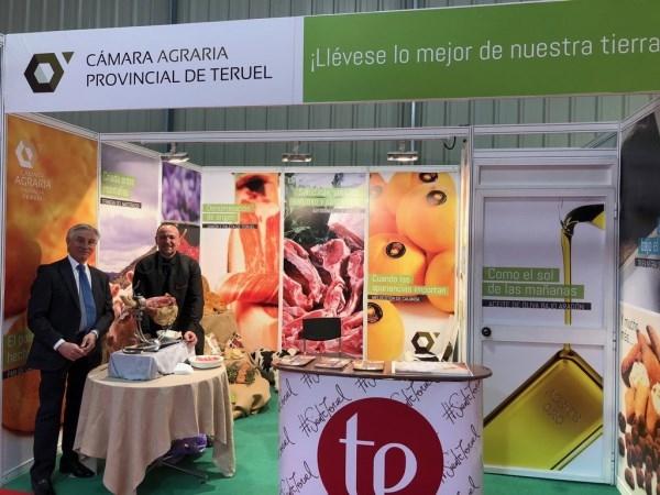 El trabajo de los productores agroalimentarios de Teruel, presente en la FIMA gracias a la Cámara Agraria Provincial