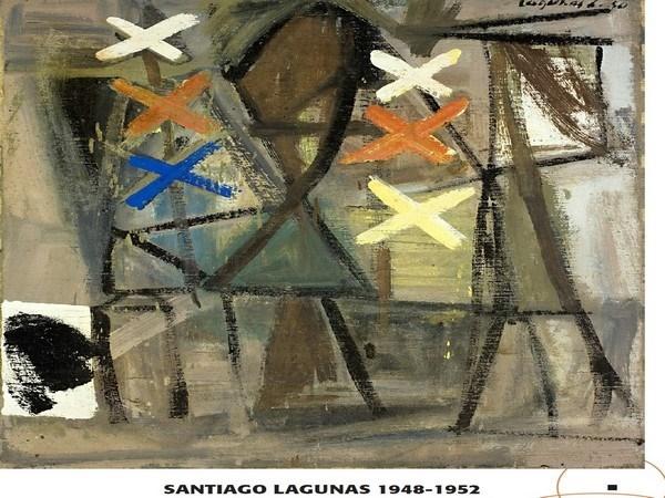 Las obras de Santiago Lagunas se exponen desde el próximo sábado en el Museo Salvador Victoria de Rubielos de Mora