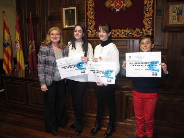 Excelente nivel en el Concurso Juvenil de Relato Breve Teruel Ciudad del Amor