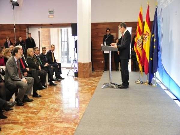 """Guillén apuesta por """"la concertación"""" contra la despoblación y reivindica las infraestructuras turolenses"""