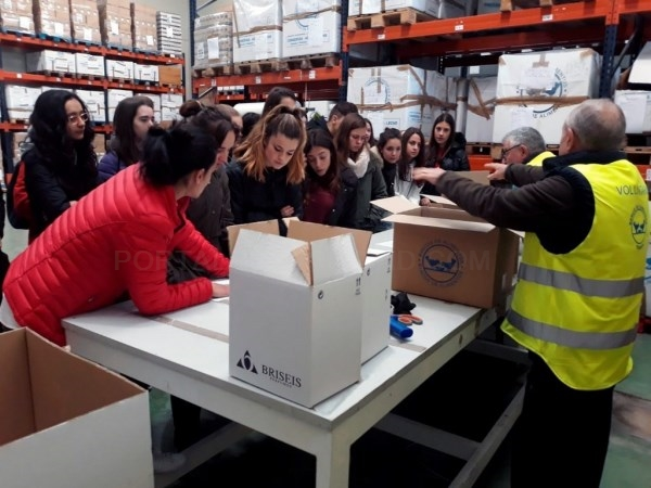 LOS ALUMNOS DEL CHOMóN APRENDEN ECONOMíA SOCIAL A TRAVéS DE LA FUNDACIóN TéRVALIS