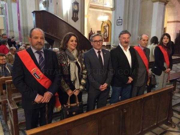 MUNIESA CELEBRA SAN ISIDRO CON LA PRESENCIA DEL OBISPO DE TERUEL Y ALBARRACíN