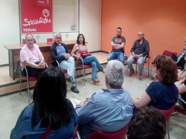 El PSOE de Teruel apoya el proyecto del Museo de la Guerra Civil impulsado por la DGA