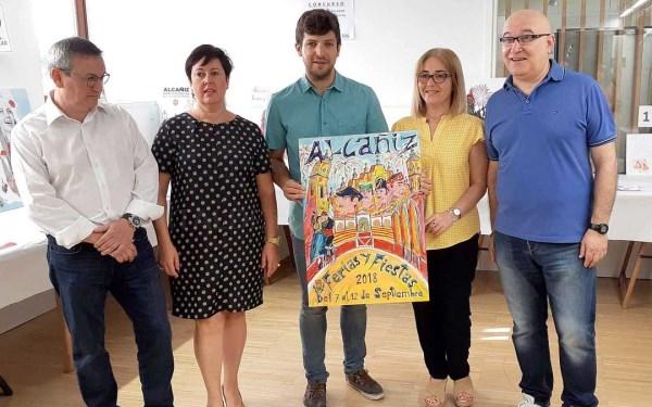 EL ALCAñIZANO IGNACIO PéREZ, GANADOR DEL CARTEL DE FIESTAS DE 2018