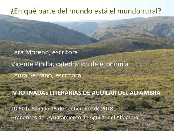 AGUILAR DEL ALFAMBRA VUELVE A CONVERTIRSE EN EL EPICENTRO LITERARIO DE LA PROVINCIA