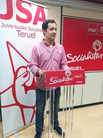 JUVENTUDES SOCIALISTAS DE TERUEL DESTACA EL ESFUERZO DEL GOBIERNO DE ARAGóN EN MATERIA DE EDUCACIóN Y UNIVERSIDAD