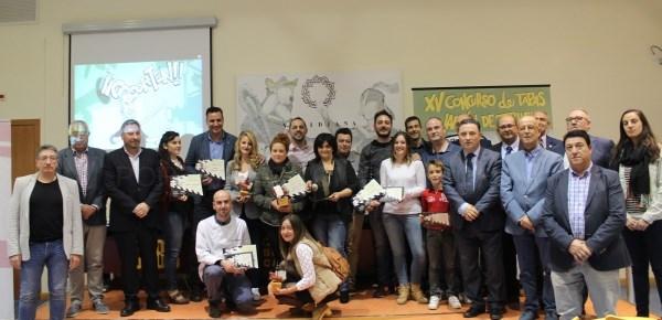 ALMENDRO'S, PURA CEPA Y 1900 GANADORES DEL CONCURSO DE TAPAS JAMóN DE TERUEL 2018