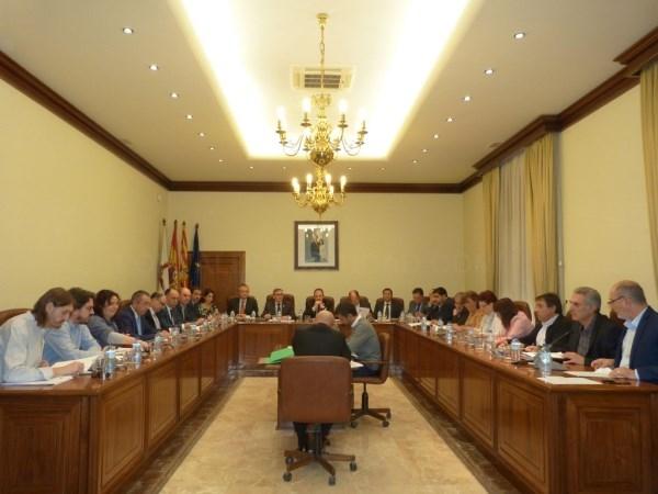 Enmiendas a los presupuestos de DPT. Grupos GANAR Y CHA