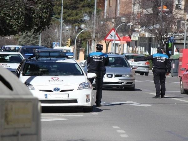 CONTROLES REALIZADOS POR LA POLICíA LOCAL DE TERUEL ESTE PASADO MES DE DICIEMBRE