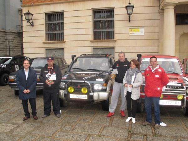 54 vehículos clásicos partían este lunes desde Teruel en una nueva etapa del VI Spain Classic Raid