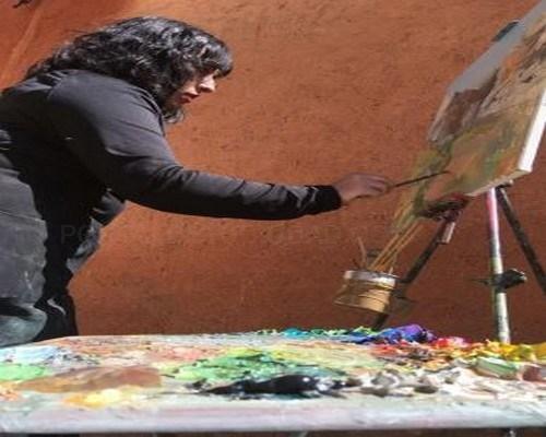 El paisaje de Albarracín es el protagonista de la nueva exposición en la torre Blanca