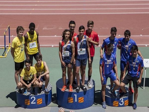Campeonato de Aragón Individual Sub16 de Atletismo en Pista   Animafys-Atlética Turolense: siete atletas y nueve podios