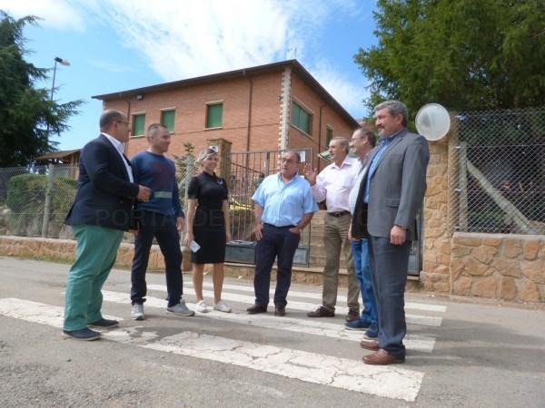La Diputación de Teruel arreglará la carretera de acceso al instituto de San Blas