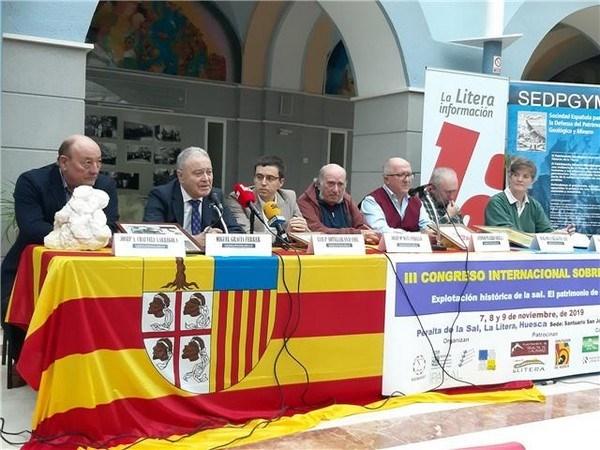LA FUNDACIóN REALES SALINAS DE ARCOS DE LAS SALINAS PARTICIPA COMO PONENTE EN EL III CONGRESO INTERNACIONAL SOBRE LA SAL
