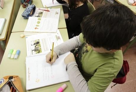 Las familias interesadas en adherirse al banco de libros podrán hacerlo en mayo en el centro donde sus hijos están matriculados