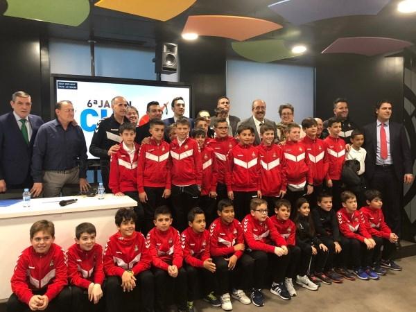 Manuel Rando reafirma el apoyo de la Diputación a la Jamón Cup en su presentación en Madrid