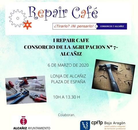 EL CONSORCIO DE LA AGRUPACIóN Nº7 ORGANIZA EL PRIMER REPAIR CAFé EN EL BAJO ARAGóN HISTóRICO