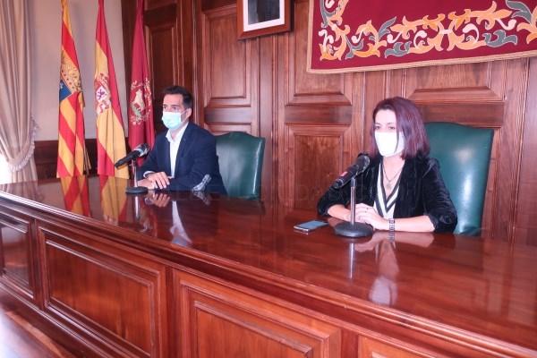 La alcaldesa de Teruel pide a la población que salga de casa sólo para lo imprescindible