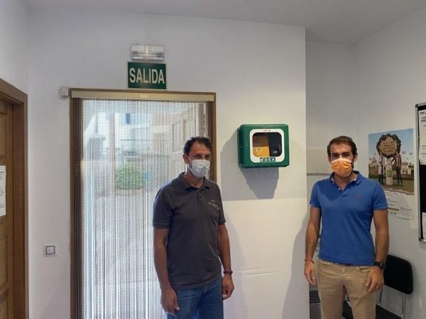 El Ayuntamiento de Teruel instala desfibriladores en los barrios rurales