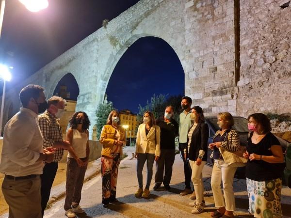 El Barrio del Carrel contará con el primer jardín colgante de la ciudad de Teruel