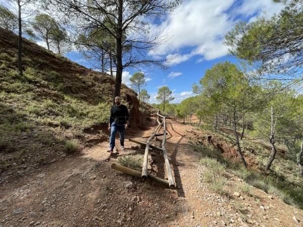 Ganar Teruel critica el estado del Parque Natural de Las Arcillas