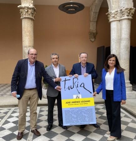 """El Instituto de Estudios Turolenses presenta el homenaje de la revista """"Turia"""" a José Jiménez Lozano en Valladolid"""