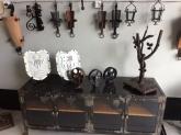 artesanía en extremadura, muebles de forja en villafranca de los barros