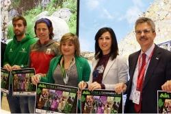 La Junta de Extremadura exhibe en FITUR el potencial de turismo activo de los circuitos deportivos de 2017