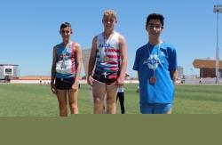 7 pódiums de los atletas infantiles en el Campeonato de Extremadura Judex.